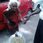 RT @KiranKS: She's 88. But earns a living the hard way, instead of begging. That's a swabhimani deserving total respect!!