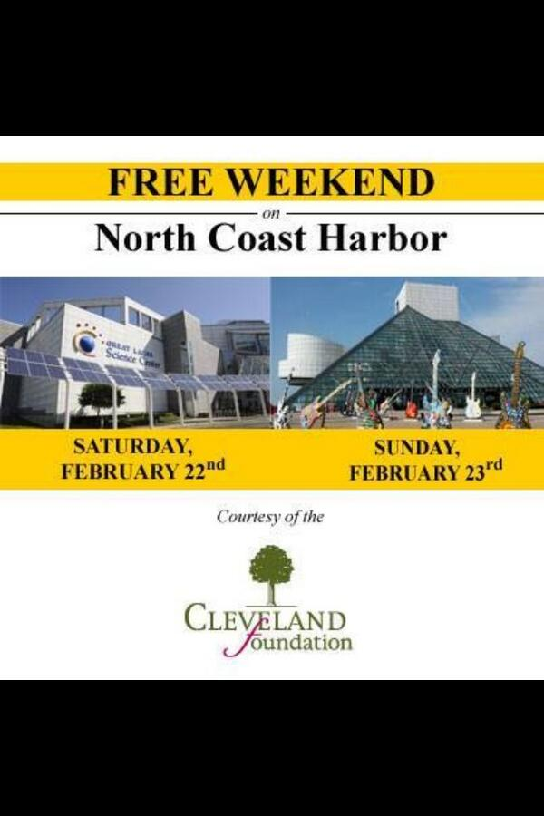 #HappyInCLE weekend events planned by @CleveFoundation at @GLScienceCtr & @rock_hall http://t.co/IQEGAYkFlT http://t.co/IXSdWt1wFf