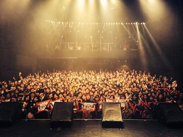 SKY-HI TOUR 2014 ~Trip of TRICKSTER~ 6公演目は福岡 DRUM LOGOS、今日も最高に楽しいステージから最高の景色をありがとうございました!!また逢いましょう( ´ ▽ ` )ノ http://t.co/n0VqEK8QTx
