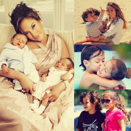 @JLo Happy Birthday to your beautiful coconuts Emme and Max!!! ❤️