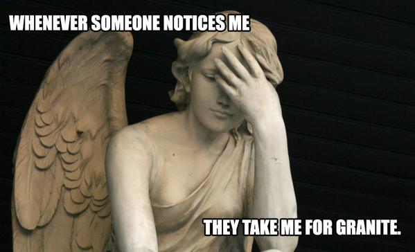 WEEPING ANGEL PROBLEMS. #DoctorWho http://t.co/gWuU74jkaV