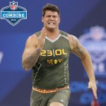 Taylor Lewan (@UMichFootball) had fastest official 40-time among O-Linemen (4.87).  RESULTS: http://t.co/Qf9KXh5E9Q