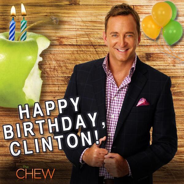 It's @Clinton_Kelly's birthday… Retweet to wish him a Happy Birthday! http://t.co/drwB2HJXRQ