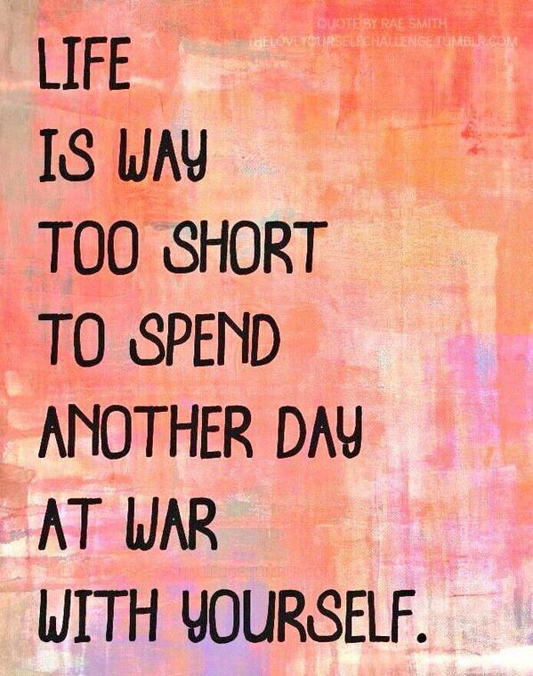 Life's too short... http://t.co/E94JtPd71d