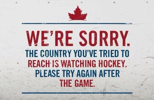 We're posting this at our house at 4 am tomorrow. #gocanadago #wearewinter http://t.co/OpaA6ccY3V