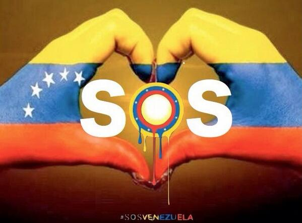 I'm with you VENEZUELA, I'm your VOICE. Stay united, the WORLD is watching you. # SOSVenezuela http://t.co/LivJsUuk24