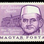 RT @msteckchandani: @sardesairajdeep    @villagehistory: 1976 : Hungarian Stamp of Lal Bahadur Shastri