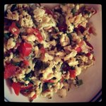 Egg whites bhurji. Sunday mid-day meal. #MyCooking http://t.co/WbRbzufmMM