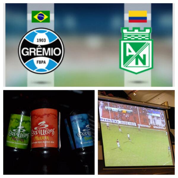 Este martes apoyamos a Nacional por la Libertadores!! Tour Futbolero, desde las 6:00 p.m. 5 cervezas, 20K…Salud!! http://t.co/E9kHh88HH7