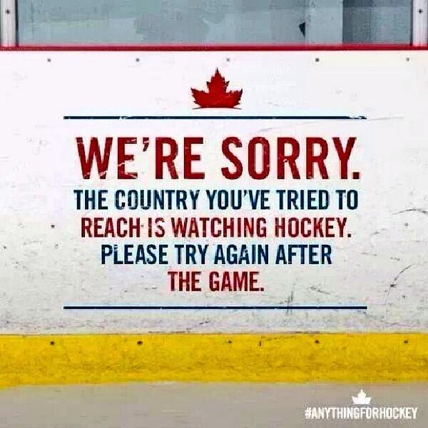 Us #Canadians love our #hockey. #AnythingForHockey #WeAreWinter #Sochi2014 #GoTeamCanada http://t.co/ZnhjWSXlKc