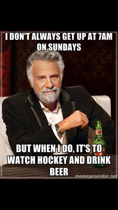 I don't always get up at 7am Sundays but when I do its to watch #TeamCanada win Gold! #GoCanadaGo #CANvsSWE http://t.co/SGKMPVqbRi
