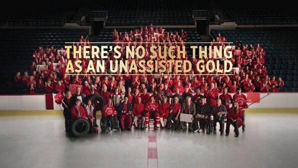 There is no such thing as an unassisted GOLD! #GoldMedalGame #WeAllPlay http://t.co/E7yXiDYzAy