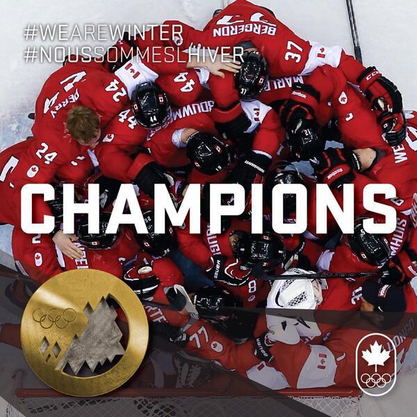 "Great teamwork! ""@CDNOlympicTeam: http://t.co/yhbNNO5sdF <- #TeamCanada 3-0 Sweden. #WeAreWinter http://t.co/KFP02kYc4a"""