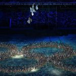 Tongue-in-cheek moment at closing ceremony recalls ring failure as #Sochi2014 began http://t.co/pr0h7TbP0G &