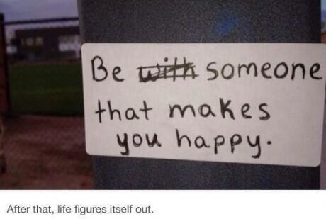 Don't rely on other people to make you happy #singlelife http://t.co/WOimzjoU8f