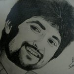 RT @smayurk: @NameisNani Hey..this ur sketch of urs that my sister drew..:-)