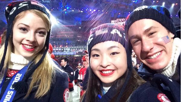 #SochiSelfie with @GraceEGold & @jasonbskates! #ClosingCeremony 🇺🇸 http://t.co/1Dwgm6cuxs