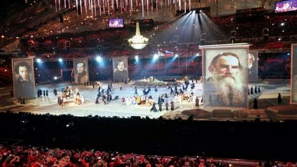 Great Russian literature! #ClosingCeremony http://t.co/PecvLVgbQ7