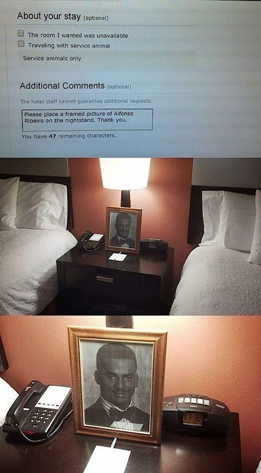 The Best Hotel Service Ever. http://t.co/QHtCz9pnaa
