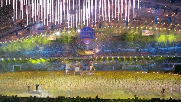 New spring is coming... #ClosingCeremony http://t.co/oOrIje38CM