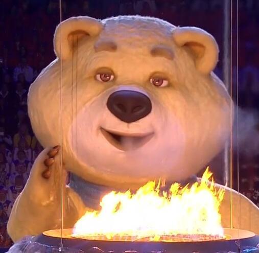 """""""@Canal22: RT si también lloraste como el osito de #Sochi 2014 #OlímpicosEnEl22 http://t.co/gIJB1o656C"""" #llorocomoelositodesochi"""