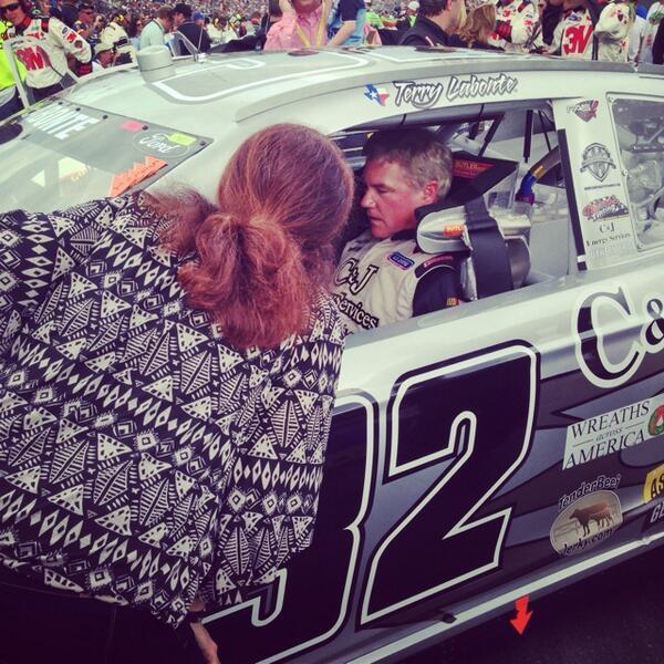 Dad's last Daytona 500. #bittersweet http://t.co/jxlBdPAkoh