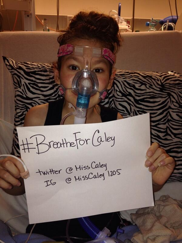 @MileyCyrus come see @misscaley who is admitted at Stanford Children's Hospital with cystic fibrosis complications http://t.co/vL3dryktow