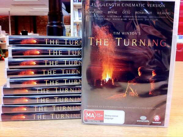 We have 10 copies of Tim Winton's @TheTurningMovie DVD to give away. RT to enter. AU only. Winners drawn 10am Tues. http://t.co/1Y5qmqwfma