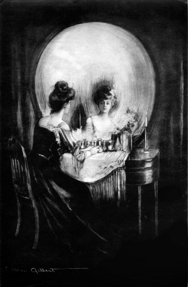 """All Is Vanity"" by C. Allan Gilbert, http://t.co/FPgwVMULJx"