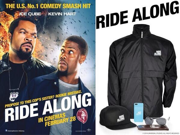 WIN #RideAlong merchandise&2tkts when u follow us &RT this post! Winner picked at random Thurs 12pm! Film out Friday http://t.co/JQGHrG3drv