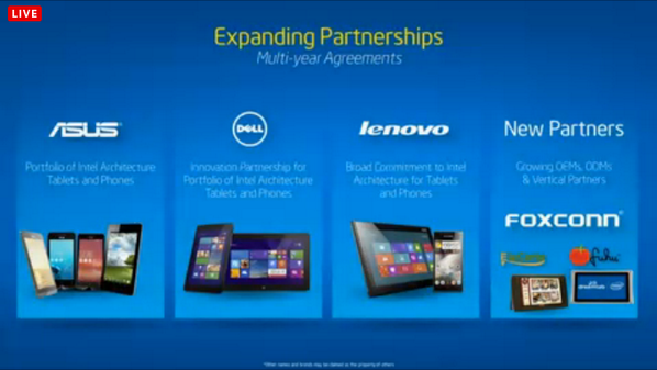 Nice! New Partnerships announced by #intel at #MWC14 http://t.co/YtMEPkv3eV