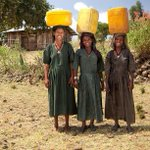 #charity: water. Three Jerry cans and three beautiful smiles in Ethiopia! http://t.co/WoPPSu2jZ3 #4charitywater
