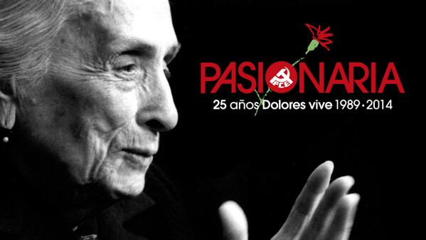 Pasionaria 25 años Dolores vive 1989-2014 http://t.co/rGdXWdVnFh http://t.co/kHkYWr0i8f