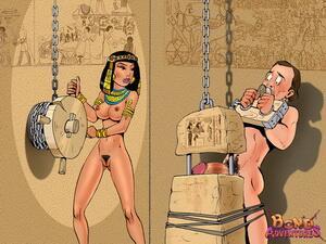 RT @allbrucebond: Very cruel ancient parody in femdom cartoons #femdom #bdsm #bondage http://t.co/rL