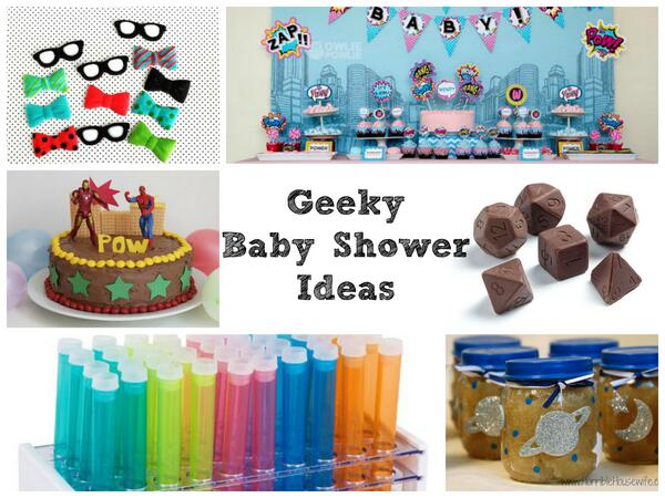 On a quest to plan an epic, geek themed baby shower? Here are 14 ideas to help you! http://t.co/wJiNLYbU89 http://t.co/arKUCbZ8rc