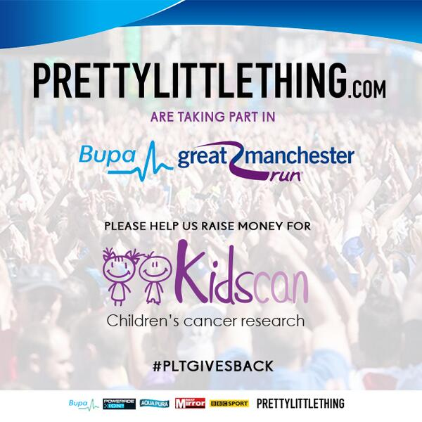 Please help us @OfficialPLT raise money for @Kidscan_UK @Great_Run click here & RT please: http://t.co/aweaIuSX4B http://t.co/dfL7dPZTxw