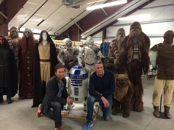 Spotted: Our @starwars experience winners hanging with some pretty famous characters at Skywalker Ranch! http://t.co/aL9pflkj75