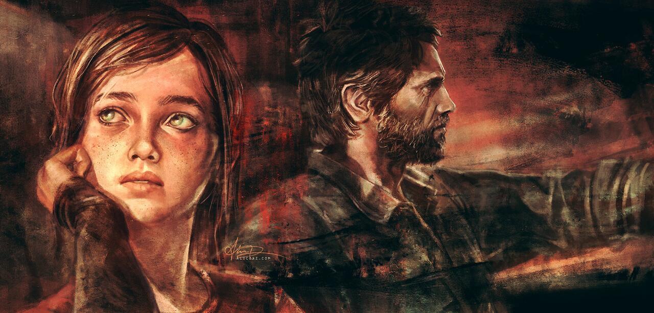RT @PlayStation_BR: Uma arte de The Last of Us, para começar bem a semana! O que será que Ellie estava pensando? http://t.co/RIvXW2dqNb
