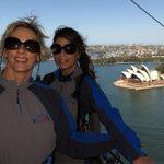 AWESOME TIME, AMAZING VIEW! xoP RT @JonesyandAmanda: Amanda did the bridge climb w/ @PaulaAbdul for @livingroomtv