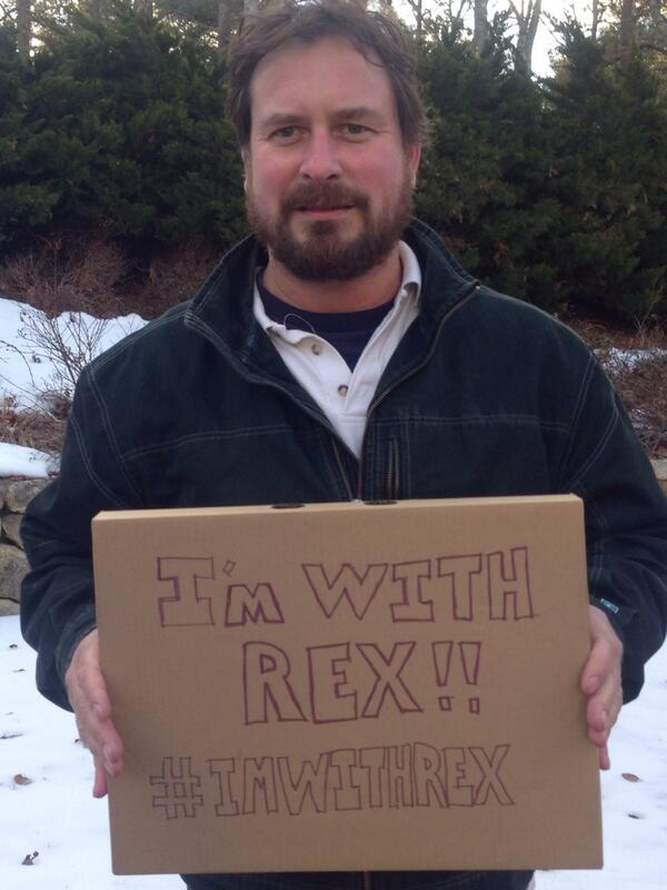 I never thought I'd see this day but... #ImWithRex http://t.co/ZwdnIBWEZp