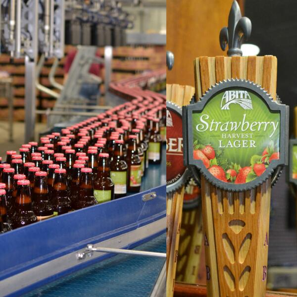 For the first time ever, Strawberry Harvest will be available in bottles AND on draft! Beginning its rollout now. http://t.co/6EPrIR49B6