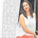 RT @sillijo: Namaste Telangana Epaper from 25th with @LakshmiManchu http://t.co/dXC20R5v5D
