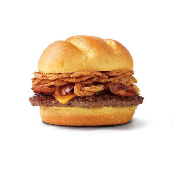 Retweet this if you like Applewood-smoked bacon on your burger! http://t.co/jClpGsHxbk