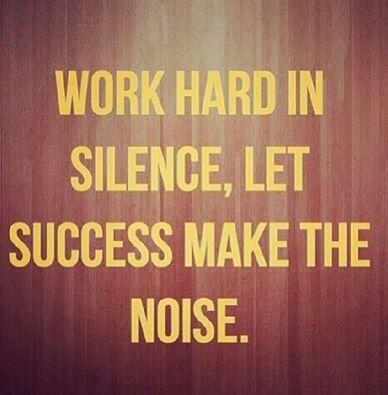 Let success speak for itself: http://t.co/9guWJH1iLZ