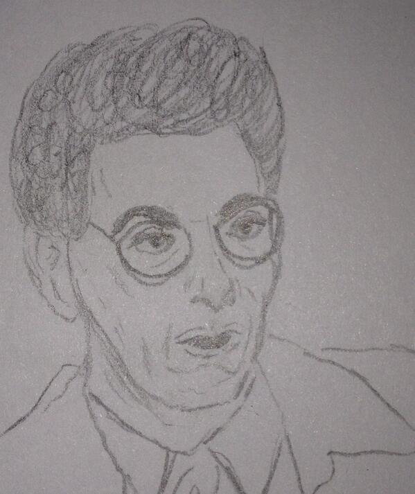 If you squint, it looks 50% like Harold Ramis. http://t.co/TCD6X71A3r