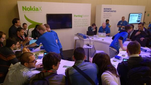 Quick, there's one seat available at the porting pods. Get your apps running on Nokia X and published in Nokia Store http://t.co/JIgZv5Pe32