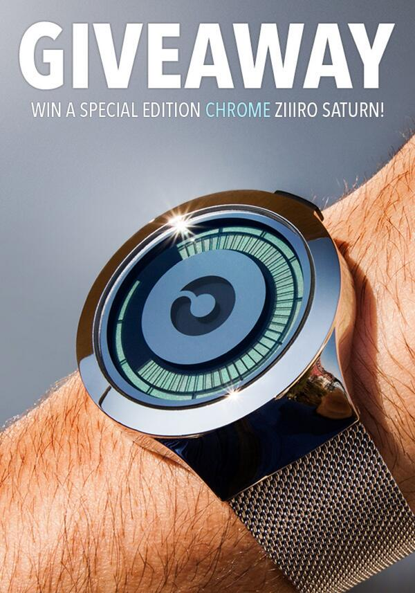 Competition till March 10th, 2014! Win a special ZIIIRO Saturn Chrome: http://t.co/GkWrdQFT5c #saturnchrome http://t.co/Rmi9KjDTui