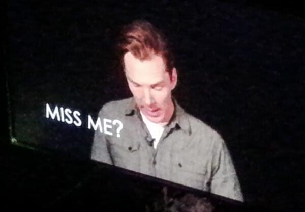 Did you get a text message last night at #bbcwshowcase?  #Sherlock http://t.co/cBc5x6gB5d