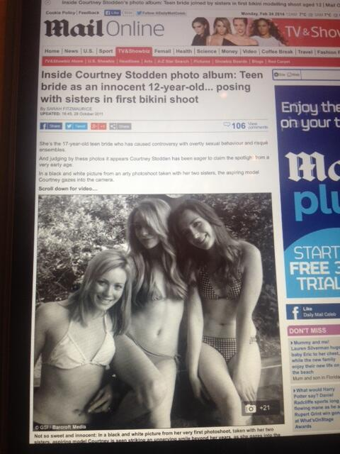 When it comes to decency and sexualisation of children, would you take lessons from the Daily Mail? http://t.co/MXmWhOILKQ