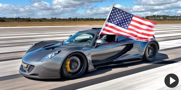 Foto para la historia: Hennessey Venom GT y su récord de velocidad a 432,5 km/h, ¿Imbatible? http://t.co/5Gctd8KSNy http://t.co/bmlmKM9thS